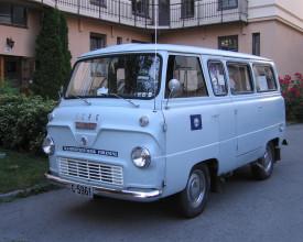 Reisen, minibuss.