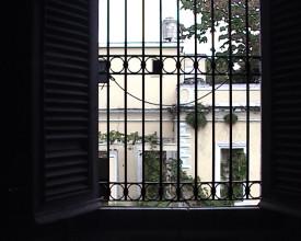 Utsikt fra mitt rom.