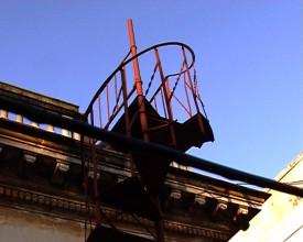Trappen til takterrassen.